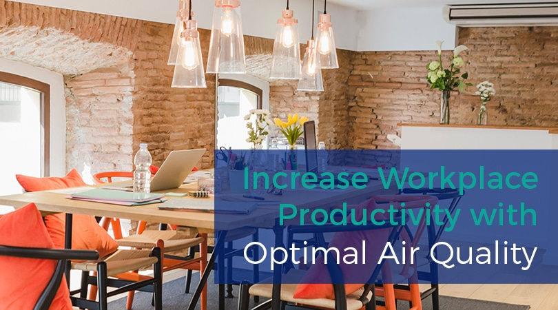 Increase Workplace Productivity with Optimal Air Quality