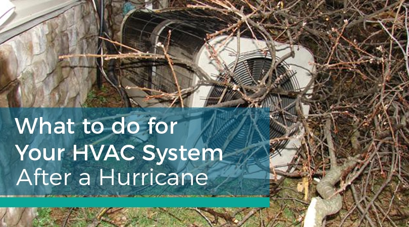 What to do for Your HVAC System After a Hurricane
