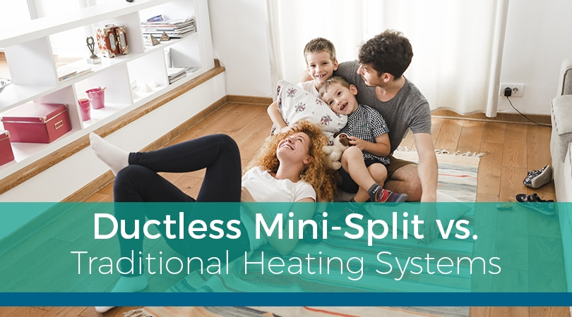 Ductless Mini-Split vs. Traditional Heating System